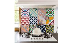 Samolepka do kuchyně Colorful Tiles 67261 Kachličky