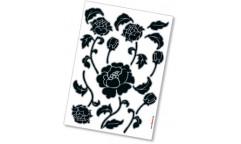 Samolepka Tiffany 17001 Květina