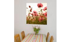 Samolepicí malířské plátno GoBig WallPanel Flowers - Květiny