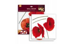 Samolepka Poppies 54101 Vlčí máky
