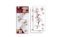 Samolepka Photographic Blossom 59389 Bílé květy