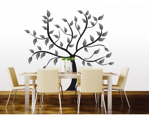 Samolepka Abstract tree, Strom ST2 020
