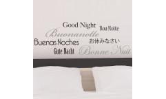 Samolepka Goodnight 62226 nápis