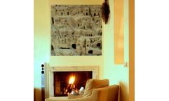 Samolepicí malířské plátno GoBig WallPanel Matera