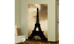 Samolepicí malířské plátno GoBig WallPanel Paris - Paříž, Eiffelovka