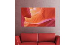 Samolepicí malířské plátno GoBig WallPanel Red Canyon - Červený kaňon