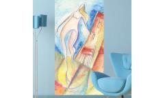 Samolepicí malířské plátno GoBig WallPanel Romina