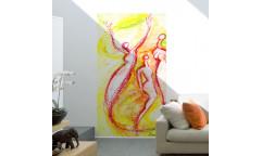 Samolepicí malířské plátno GoBig WallPanel Joyful