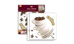 Samolepka Coffee 54321 Káva