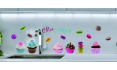 Samolepka Cupcakes & Macarons 59158 Cukroví