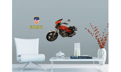 Samolepka Motorcycle ST1 028 Motorka
