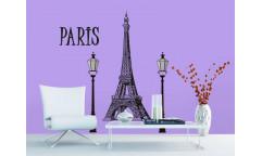 Samolepka Paris, Paříž ST2 021