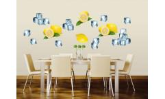 Samolepka Lemon and ice, Citron a led ST2 027