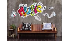 Samolepka Music ST2 028 Hudba