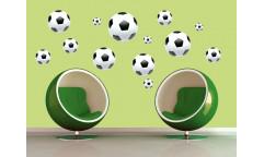 Samolepka Soccer Ball, Fotbalový míč ST1 005
