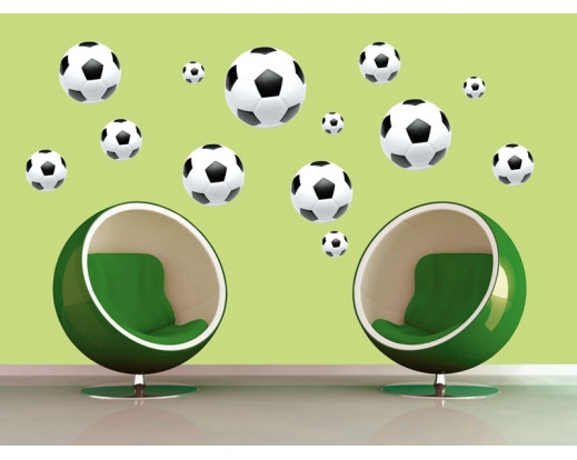 Samolepka Soccer Ball ST1 005 Fotbalový míč