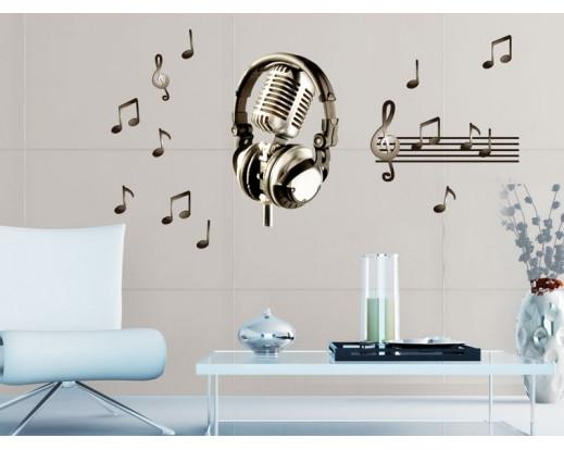 Samolepka Music ST1 006 Hudba