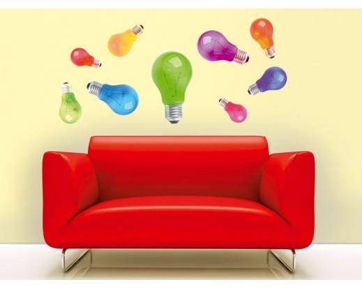 Samolepka Light bulbs, Žárovky ST1 009