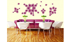 Samolepka Violet petals ST1 016 Fialové okvětní lístky