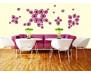 Samolepka Violet petals, Fialové okvětní lístky ST1 016