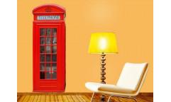 Samolepka British phone box, Telefonní budka ST2 009