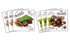 Samolepky na kachličky Chocolate TI 004 Čokoláda
