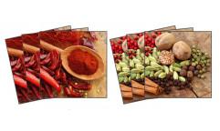 Samolepky na kachličky Chilli & pepper TI 005 Čili a pepř