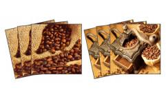 Samolepky na kachličky Coffee TI 007 Káva