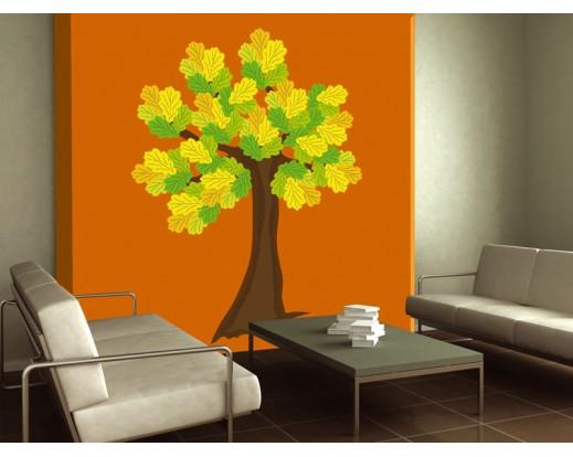 Samolepka Oak tree, Strom ST2 019