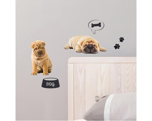 Samolepka Dogs 59451 Psi