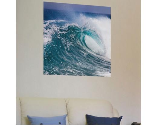 Samolepicí malířské plátno GoBig WallPanel Water Power