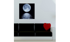 Samolepicí malířské plátno GoBig WallPanel Moonlight