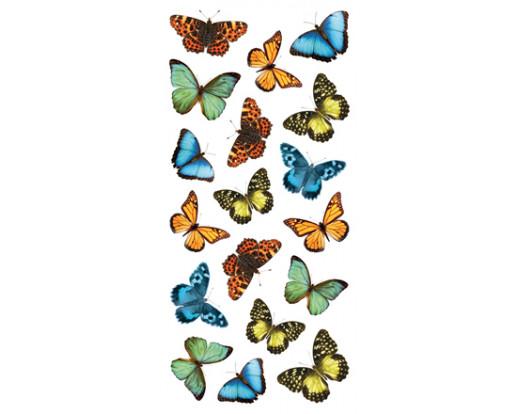 Samolepka Colourful Butterflies 59455 Barevní Motýli