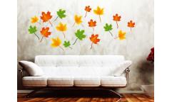 Samolepka Maple leaves ST1 013 Javorové listy