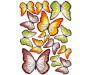Samolepka Butterflies ST1 015 Motýli