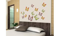 Samolepka Butterflies, Motýli ST1 015
