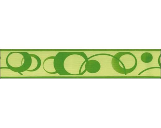 Samolepicí bordura Zelená kolečka