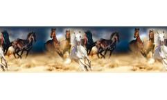 Samolepicí bordura Horses WB 8202