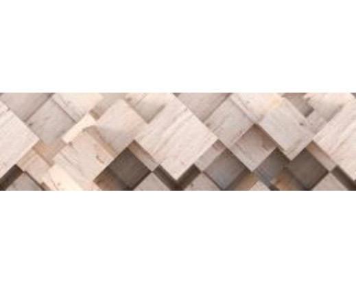 Samolepicí bordura 3D Wood WB 8210