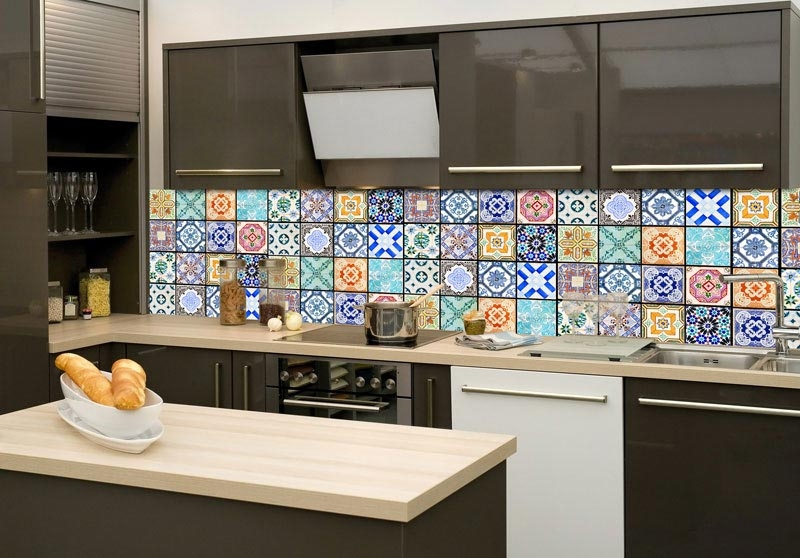 samolepic fototapeta k lince vintage tiles dla dice. Black Bedroom Furniture Sets. Home Design Ideas